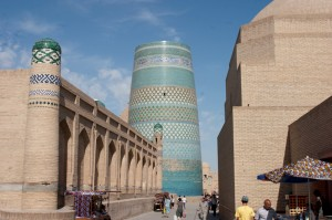 Das Wahrzeichen von Chiwa (Khiva)