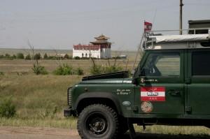 Buddhistisches Kloster nahe Elista