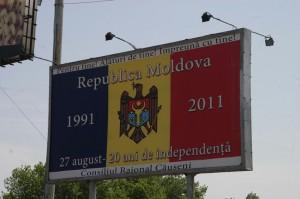 An der moldawischen Grenze