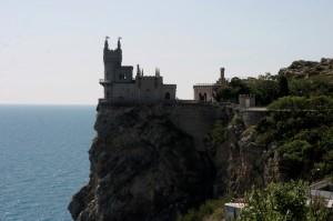 """Das """"Schwalbennest"""" - Wahrzeichen der Krim"""